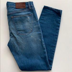 Madewell | Skinny Jeans Distressed